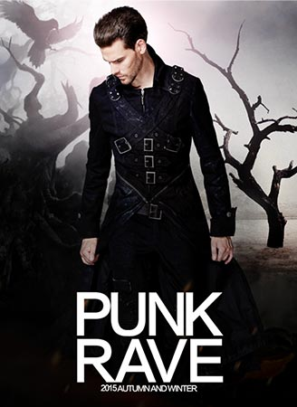 Punk Rave 2015 Mens Autumn and Winter Series