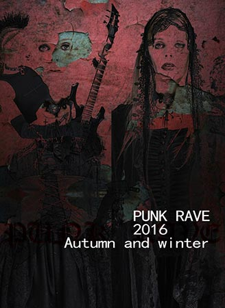 Punk Rave 2016 Womens Autumn and Winter Collection